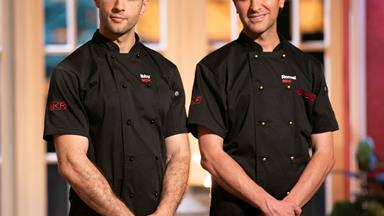 Ibby and Romel discuss their shock My Kitchen Rules loss and address speculation the final was rigged