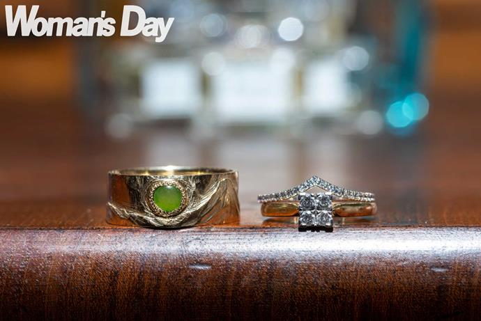 Riki's ring was made from his gran's greenstone.