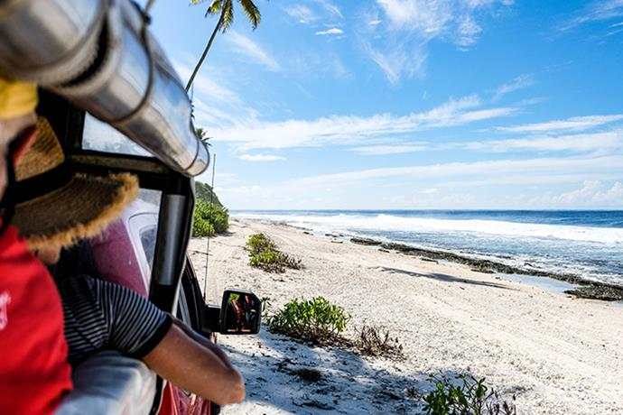 Huahine is best explored on a four-wheel drive trip with Poe Island Tour.