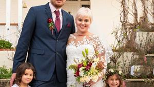 Dying bride's perfect day: My final dream has come true