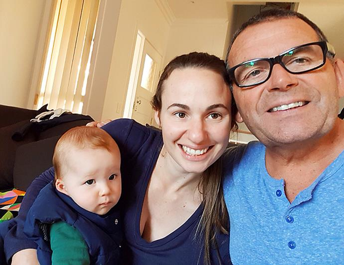 Paul with daughter Lucy and his adorable grand-daughter Rei