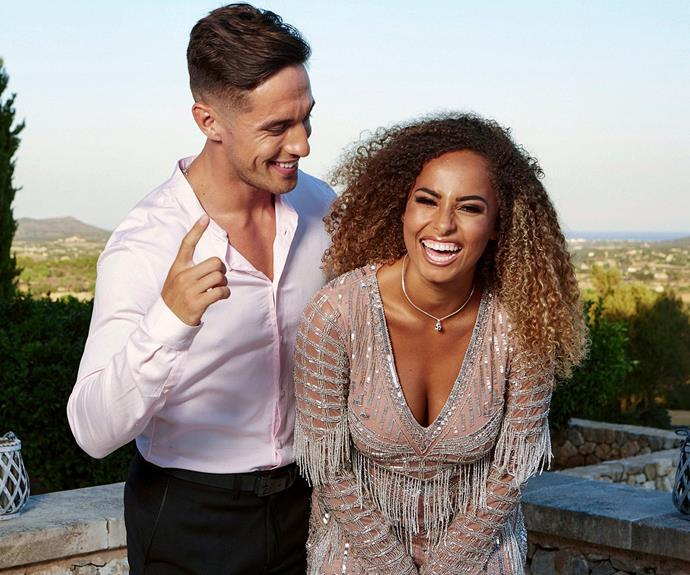Greg Amy love island winners