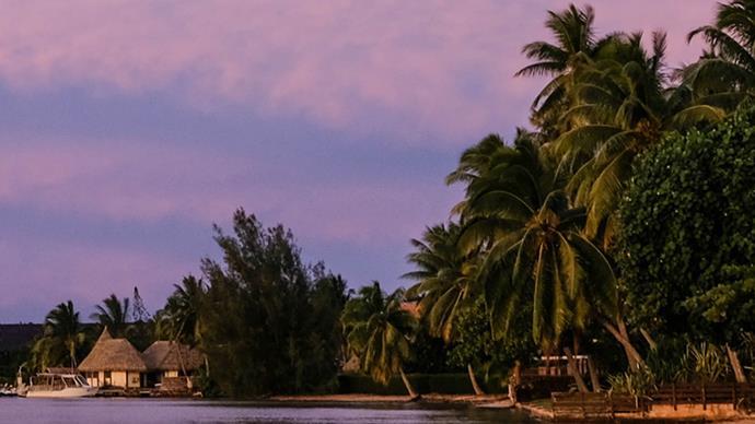 Sunset Fenua Matai'oa Mo'orea Tahiti