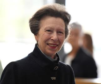princess anne smiling