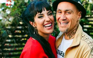 Tiki Taane Rachel Axis engaged