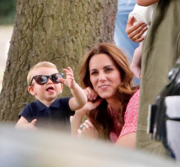 "**Prince Louis, July 2019** <br><br> He may only be one, but Prince Louis is already proving he's one cool kid! Our hearts melted when we saw this pic of him wearing his mum's sunglasses as he tries to entertain his aunt Meghan and little cousin Archie at the [charity polo match](https://www.nowtolove.co.nz/celebrity/royals/archie-meghan-markle-kate-middleton-polo-outing-41737|target=""_blank""). <br><br> *(Image: Getty)*"
