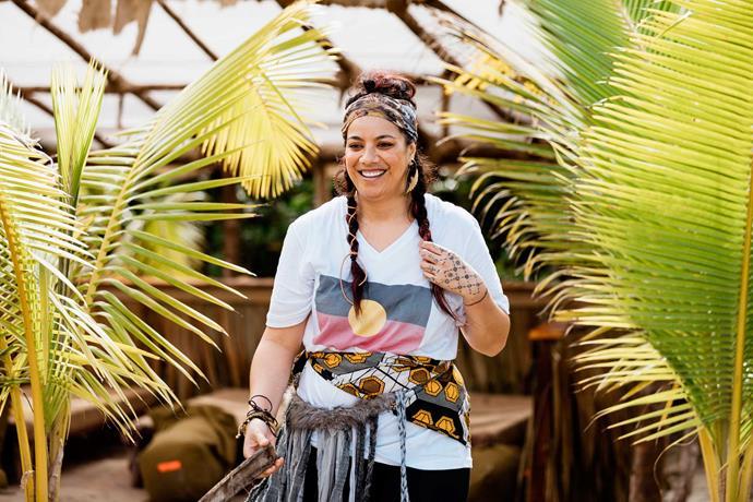 Ladi6 on *Celebrity Treasure Island*