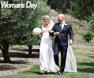 Gemma McCaw wedding richie mccaw