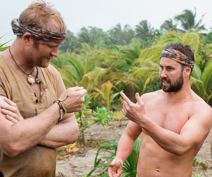 Sam Wallace and Eric Murray nude Celebrity Treasure Island