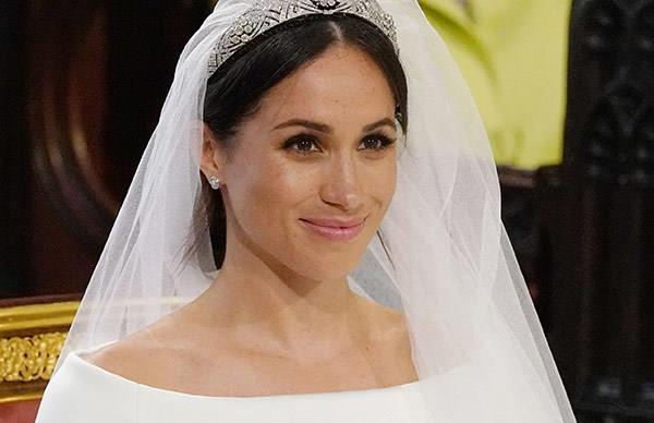 meghan markle wedding beauty look