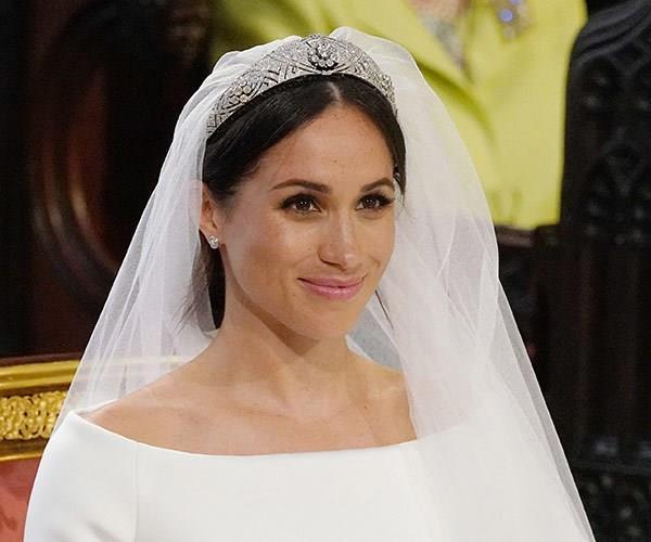 meghan markle wedding beauty look