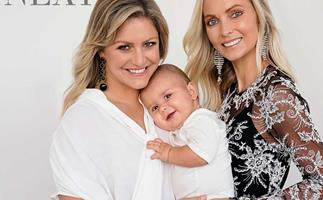 Baby Lachie turns one! Toni Street and her best friend and surrogate, Sophie Braggins, reflect on the past year