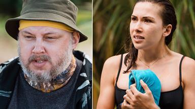 Celebrity Treasure Island's Lana Van Hout applauds Karl Burnett for his bravery in putting his mental health first