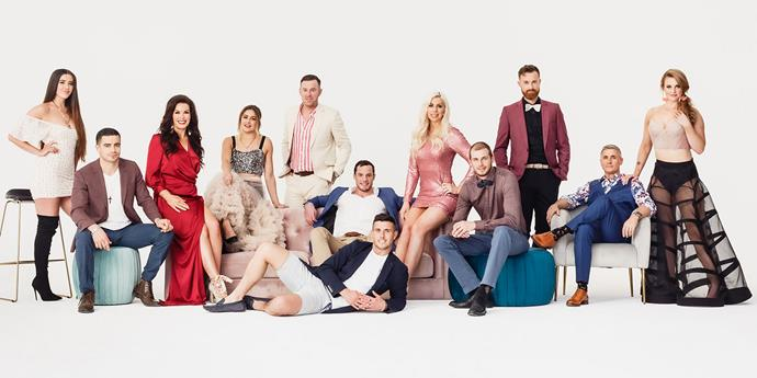 The new cast of *Married at First Sight* NZ.