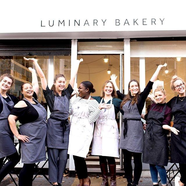 """""""What they've created at Luminary Bakery is exceptional – it's a space for baking, healing and rebuilding,"""" wrote Duchess Meghan. *(Image: Instagram/@Sussexroyal)*"""