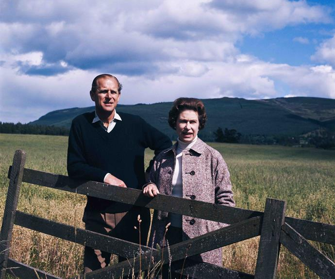 The Queen's holiday home is where she lets her hair down and wears trousers. Prince Philip and Queen Elizabeth at Balmoral in 1972. *(Image: Getty)*