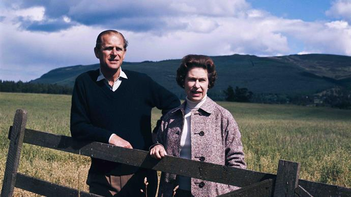 prince philip and queen elizabeth at balmoral