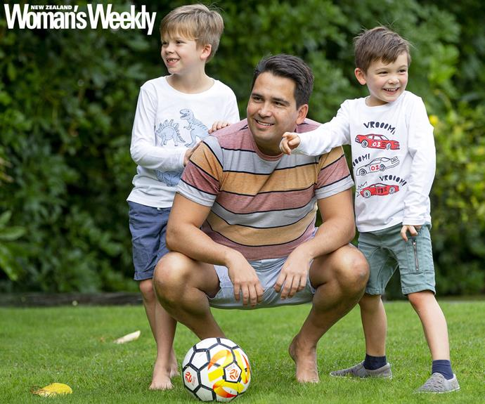 Simon Bridges and sons
