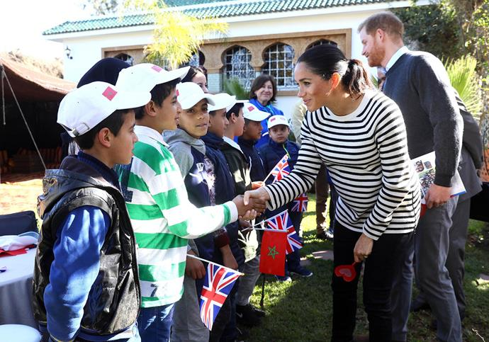 Meghan and Harry were delighted to shed light on the Blink Now Foundation, one of the 15 grassroots organisations nominated and chosen as one of their Forces For Change for the month of August. *(Image: Getty)*