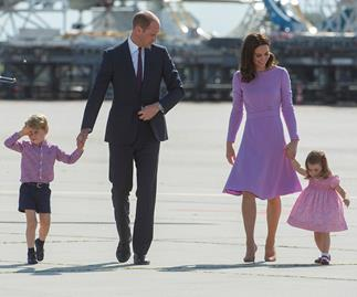prince george prince william kate middleton and princess charlotte