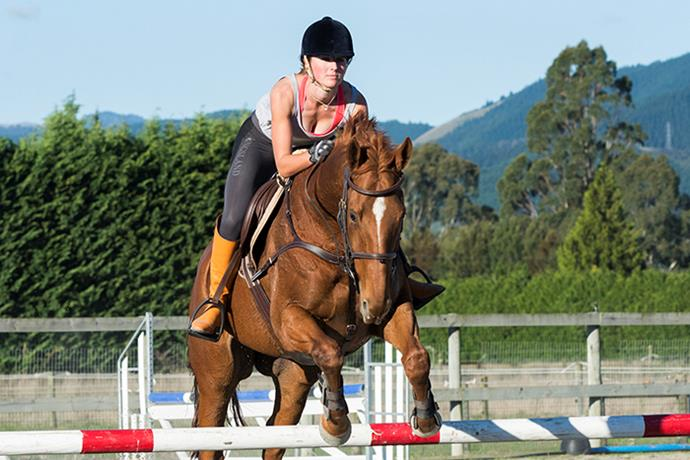 When she isn't running, Steph unwinds at the horse stud she calls home at Clevedon, near Auckland.