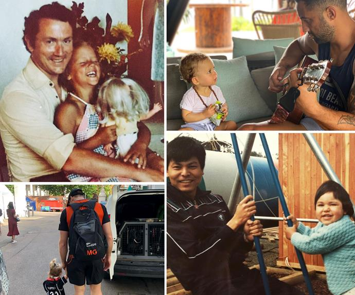 Kiwi celebrities take to social media to thank the 'wonderful' dads in their lives