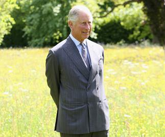prince charles at highgrove
