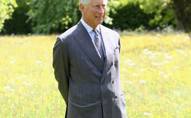 Prince Charles teams up with a sustainable fashion label to create clothing out of weeds from his garden