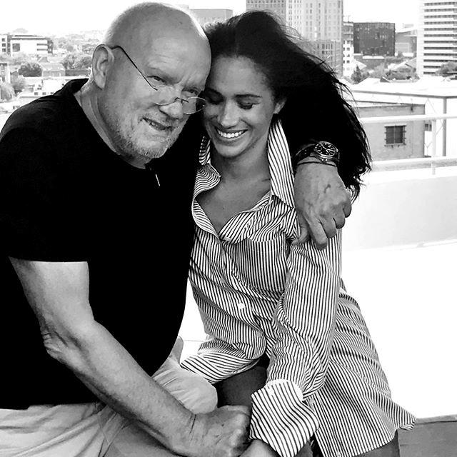 Meghan made a touching tribute to Peter Lindbergh on Instagram, honouring his life and his work. *(Image: Instagram/@sussexroyal)*