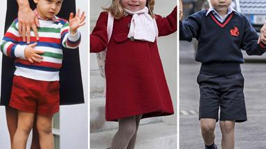 12 of the cutest photos of royals on their first day of school