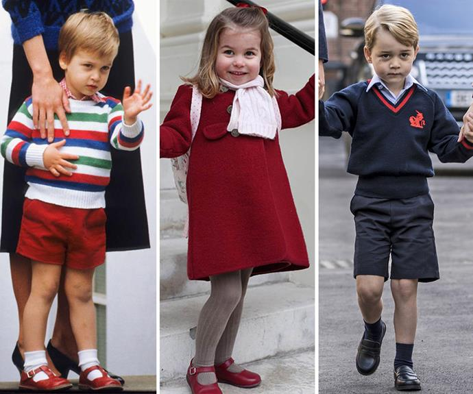 young prince william princess charlotte prince george