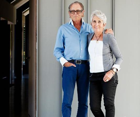 Michael Hill and wife
