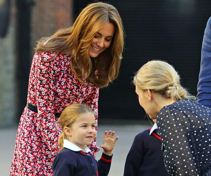 princess charlotte kate middleton school