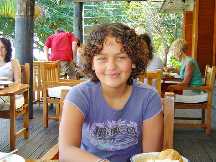 Gorgeous curly-haired Elle has been Carson's inspiration.