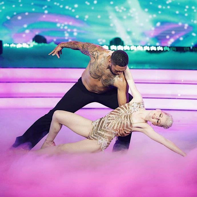 Loryn and Manu on danced their way to victory on DWTS earlier this year.
