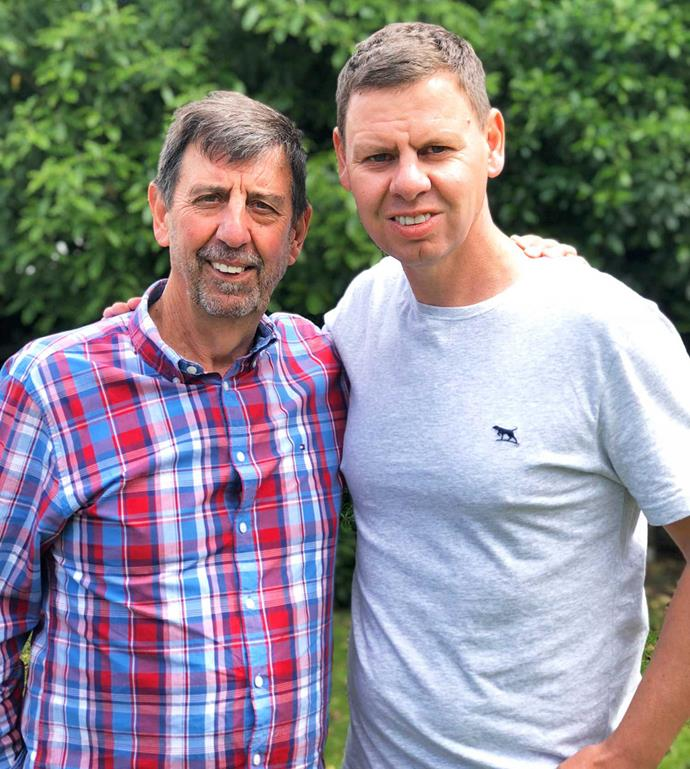 Paddy and his father Gordon.