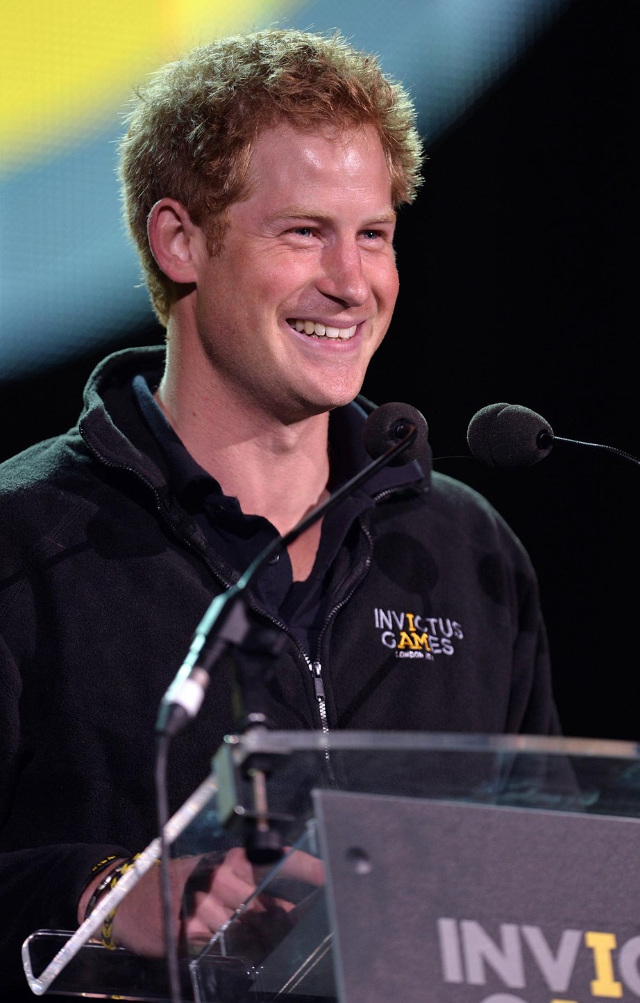 Prince Harry at the very first Invictus Games in 2014. *(Image: Getty)*