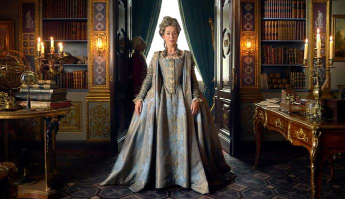 Helen takes the lead in the miniseries *Catherine the Great*