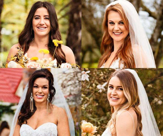Married at First Sight NZ brides share the details on their wedding dresses