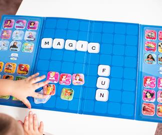 Countdown Disney Word Tiles