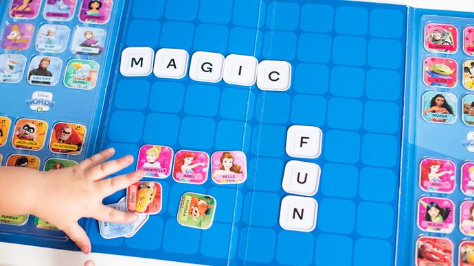 Countdown Disney Word Tiles