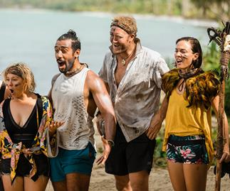 Celebrity Treasure Island Jody Rimmer Moses Mackay Eric Murray