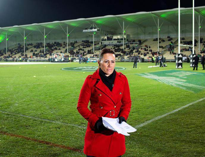 For the next two weeks, we'll see Jenny-May reporting from Japan in the build-up to the Rugby World Cup