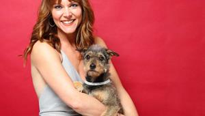 Celebrities and their pets: Shortland Street's Ria Vandervis and princess pooch Maeby