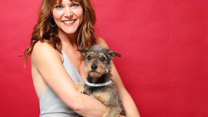 Shortland Street's Ria Vandervis pet dog