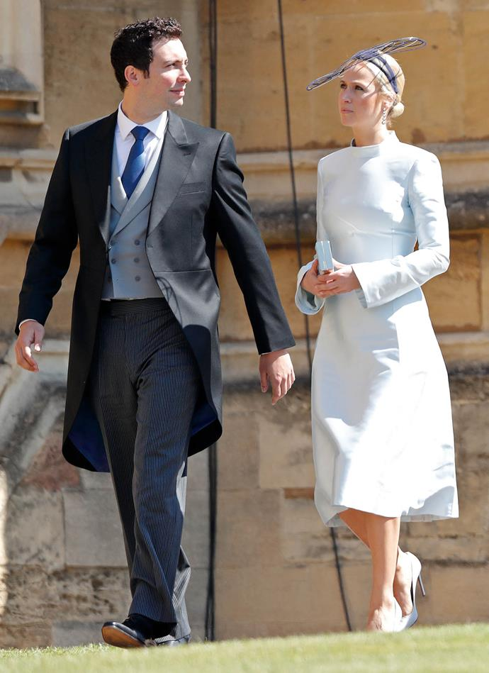 Misha and husband-to-be Michael attended Meghan and Harry's wedding last year at Windsor Castle. *(Image: Getty)*