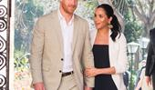 Just days before flying to South Africa Duchess Meghan and Prince Harry have been spotted in Rome