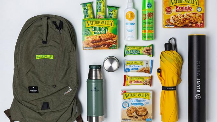 Win your day pack essentials!