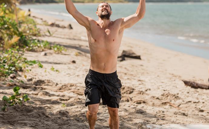 Sam Wallace wins Celebrity Treasure Island