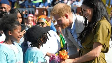 Duchess Meghan and Prince Harry received incredibly sweet gifts in Bo Kaap - plus one for Archie!